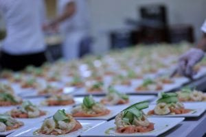 Catering a Seafood menu for your wedding
