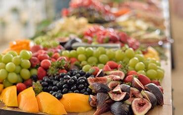 Fresh fruit spread