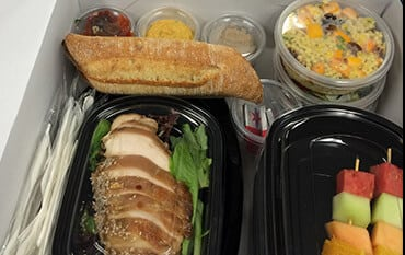 Catering food packages