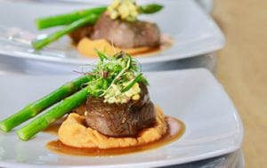 Fillet Mignon steak catering